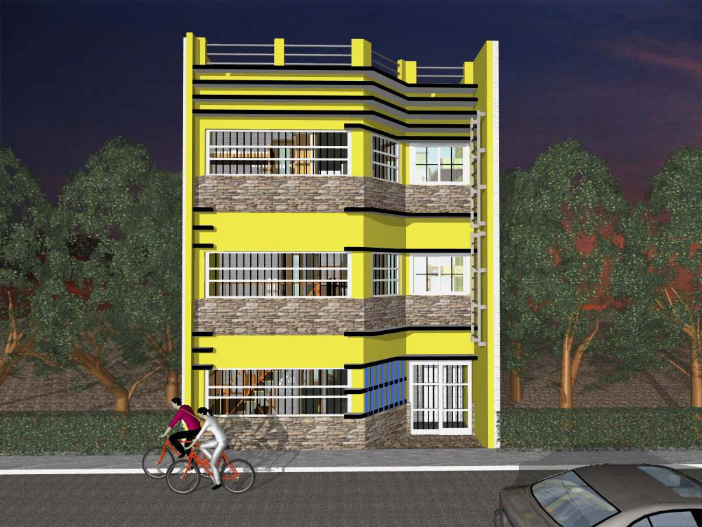 Apartment Building Designs Philippines 3 storey apartment building design - admissions guide