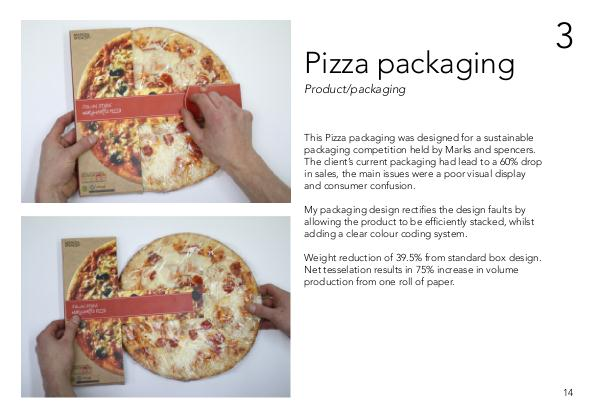 Sustainable pizza packaging by joe knowland at for Joe s bain industrial organization pdf