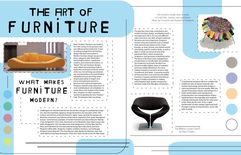 qView Full Size. Furniture Spread - This magazine ...