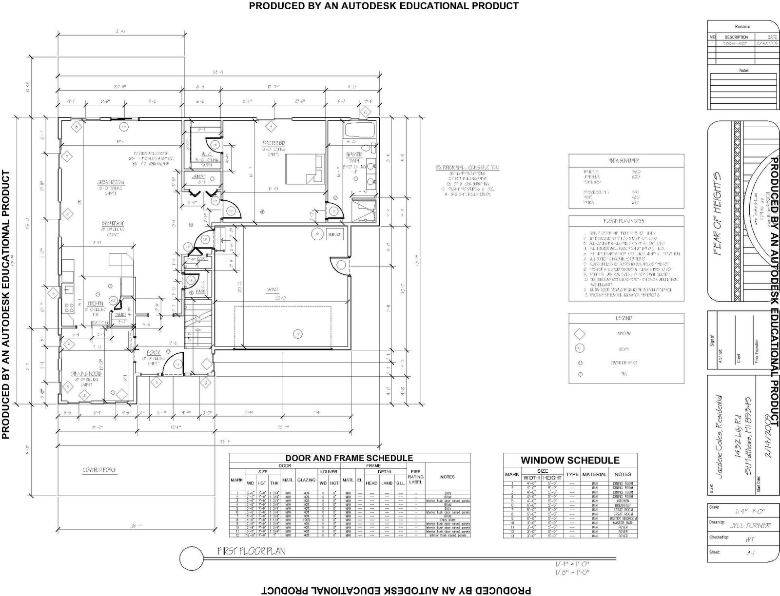 Architecture by jyll turner at for Full size architectural drawings