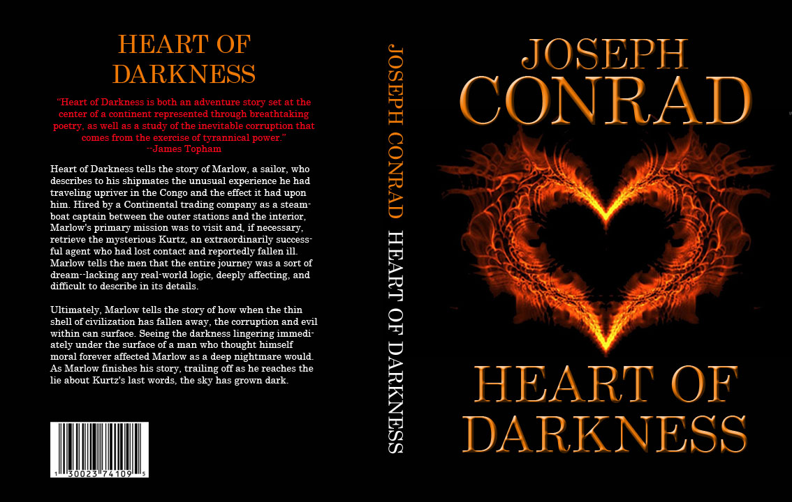 heart of darkness conrad on the Librivox recording of heart of darkness, by joseph conrad read by kristin luoma set in a time of oppressive colonisation, when large areas of the world were.