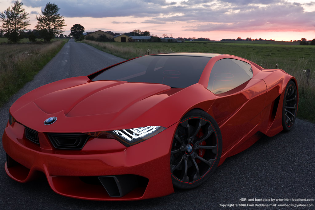Bmw Gt Concept By Emil Baddal At Coroflot Com