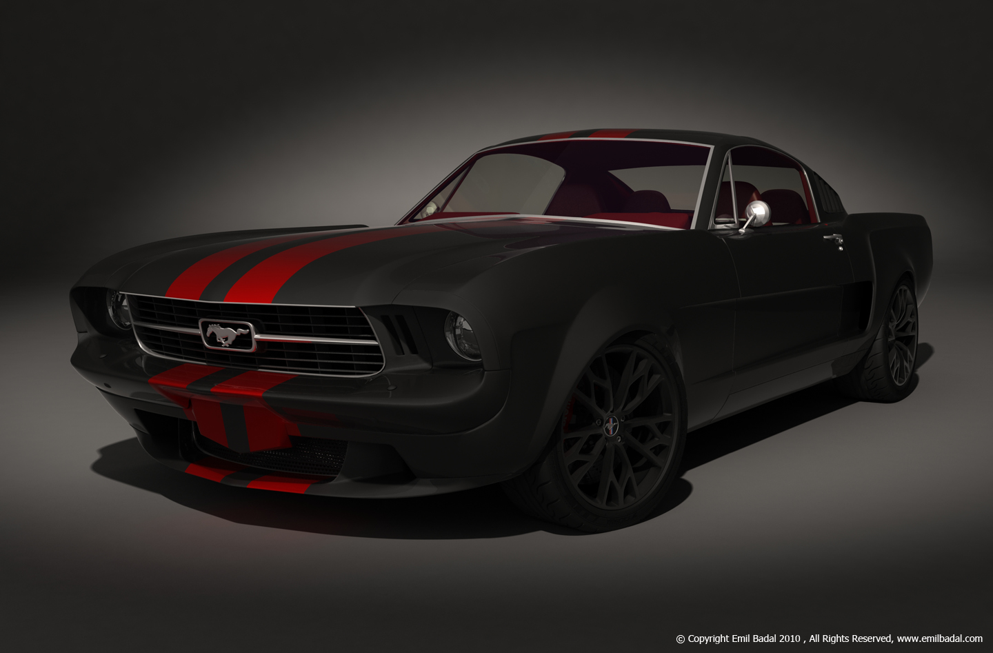 Audi A9 >> 1966 Ford Mustang Fastback ProTouring Concept ~ MotoDroid