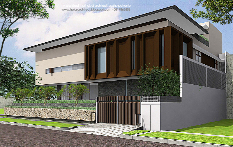 Residential AW House By Yudho Patrianto At