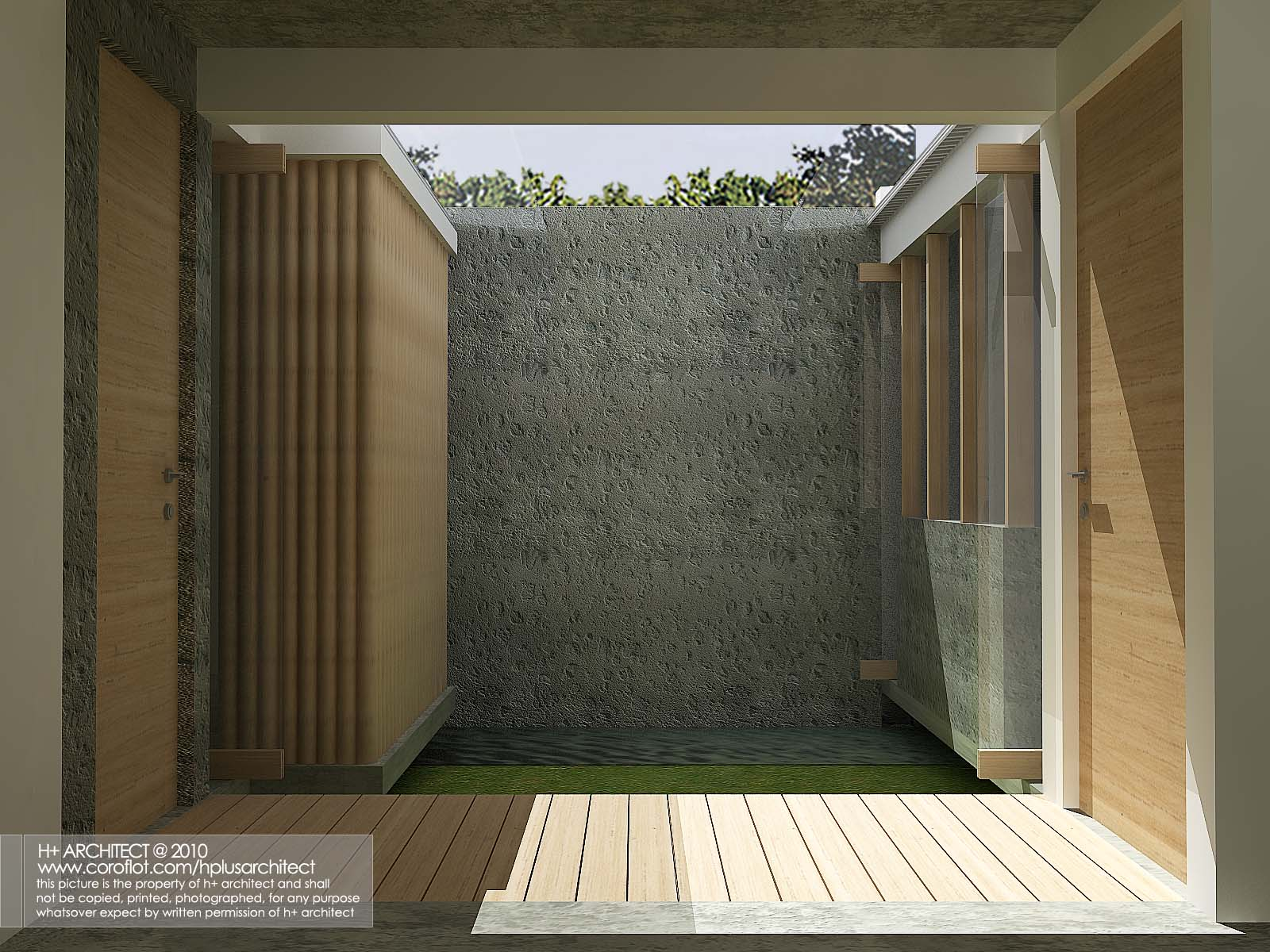 competition rumah mungil hijau by yudho patrianto at