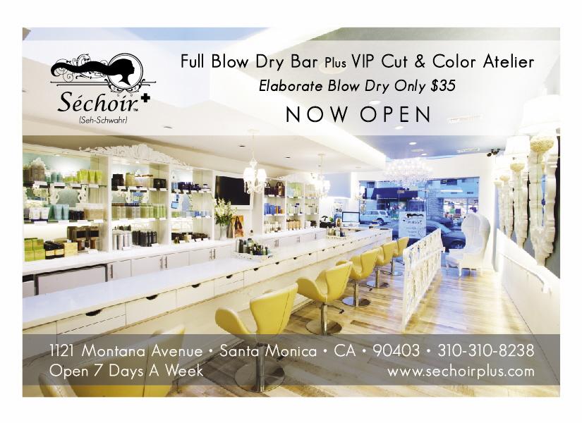 Sechoir Plus Hair Salon Newspaper Ad