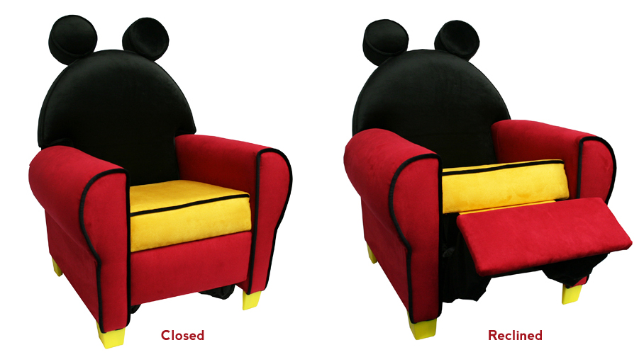 Mickey Mouse Recliner - Children's Furniture By Miguel Almena At Coroflot.com
