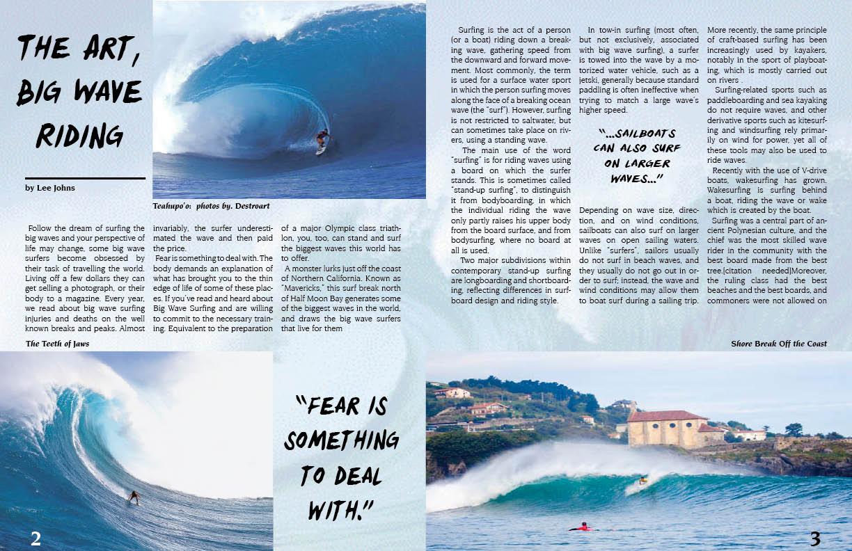 Alfa img - Showing > Surfing Magazine Spread