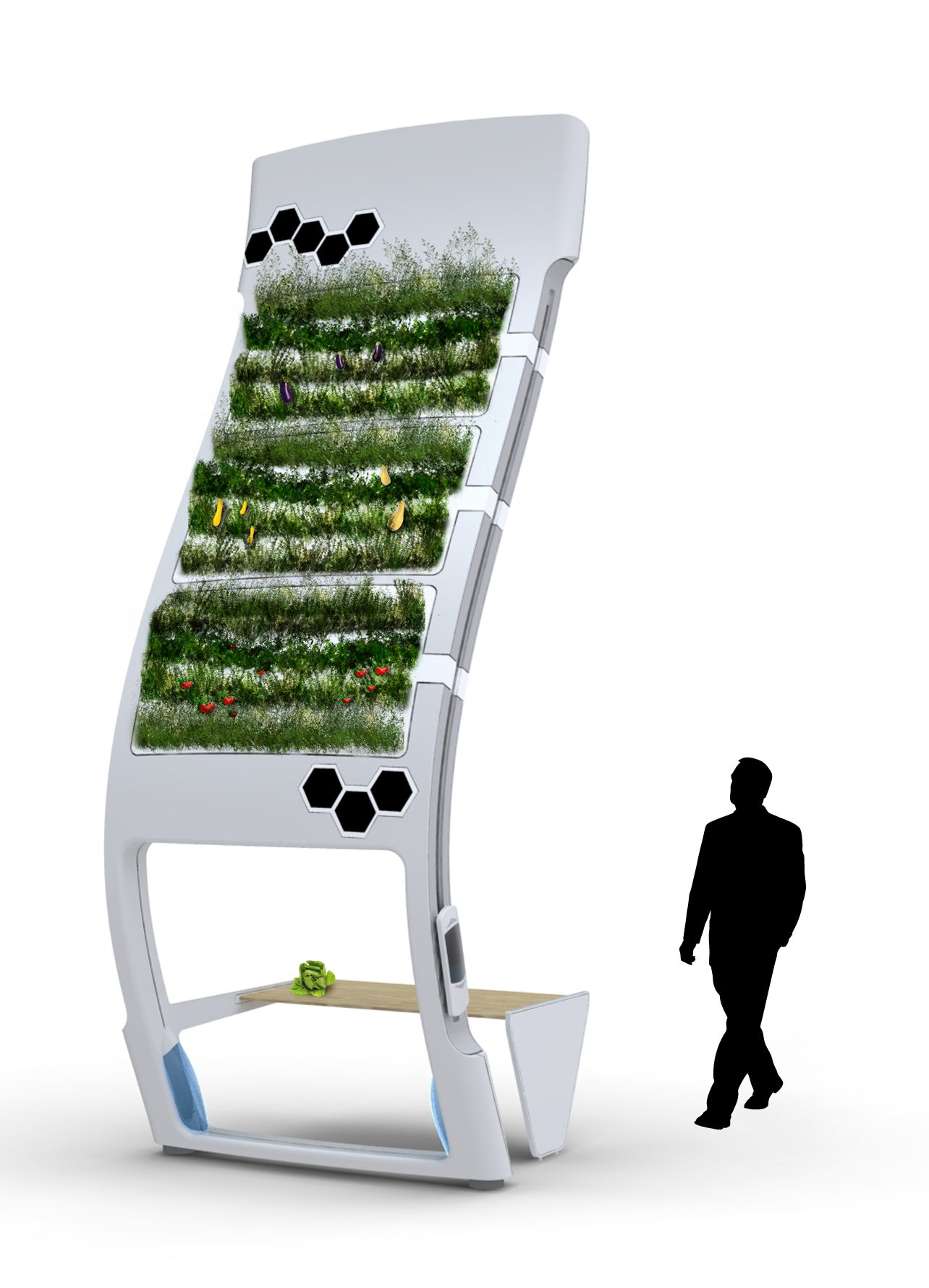 Aeroponic Garden System by Erik Campbell at Coroflotcom