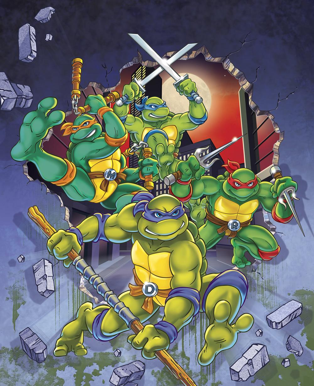 Te Teenage Mutant Ninja Turtles Tv Show - Teenage mutant ninja turtles season 9 packaging key art