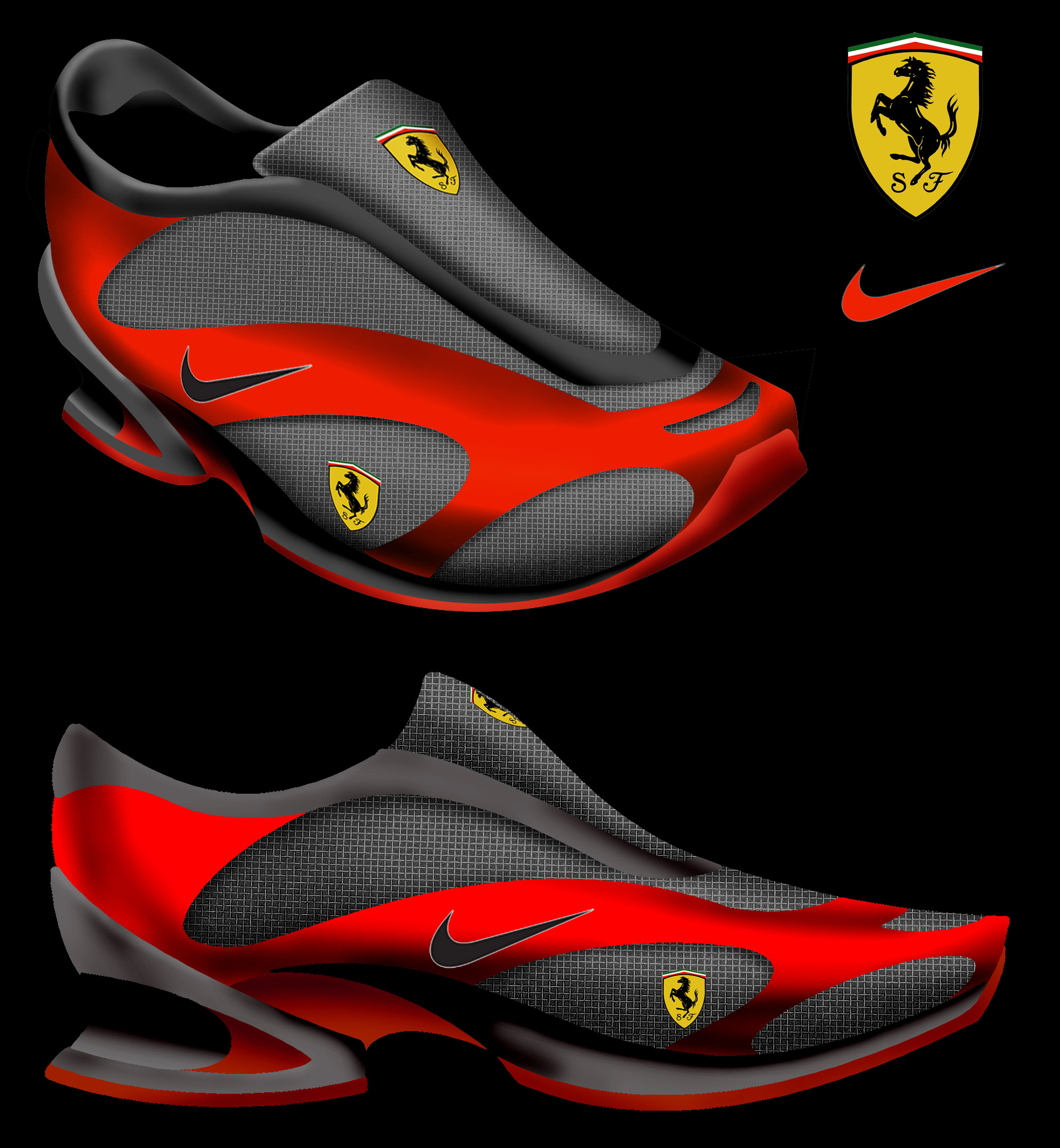 Ferrari Shoes Nike