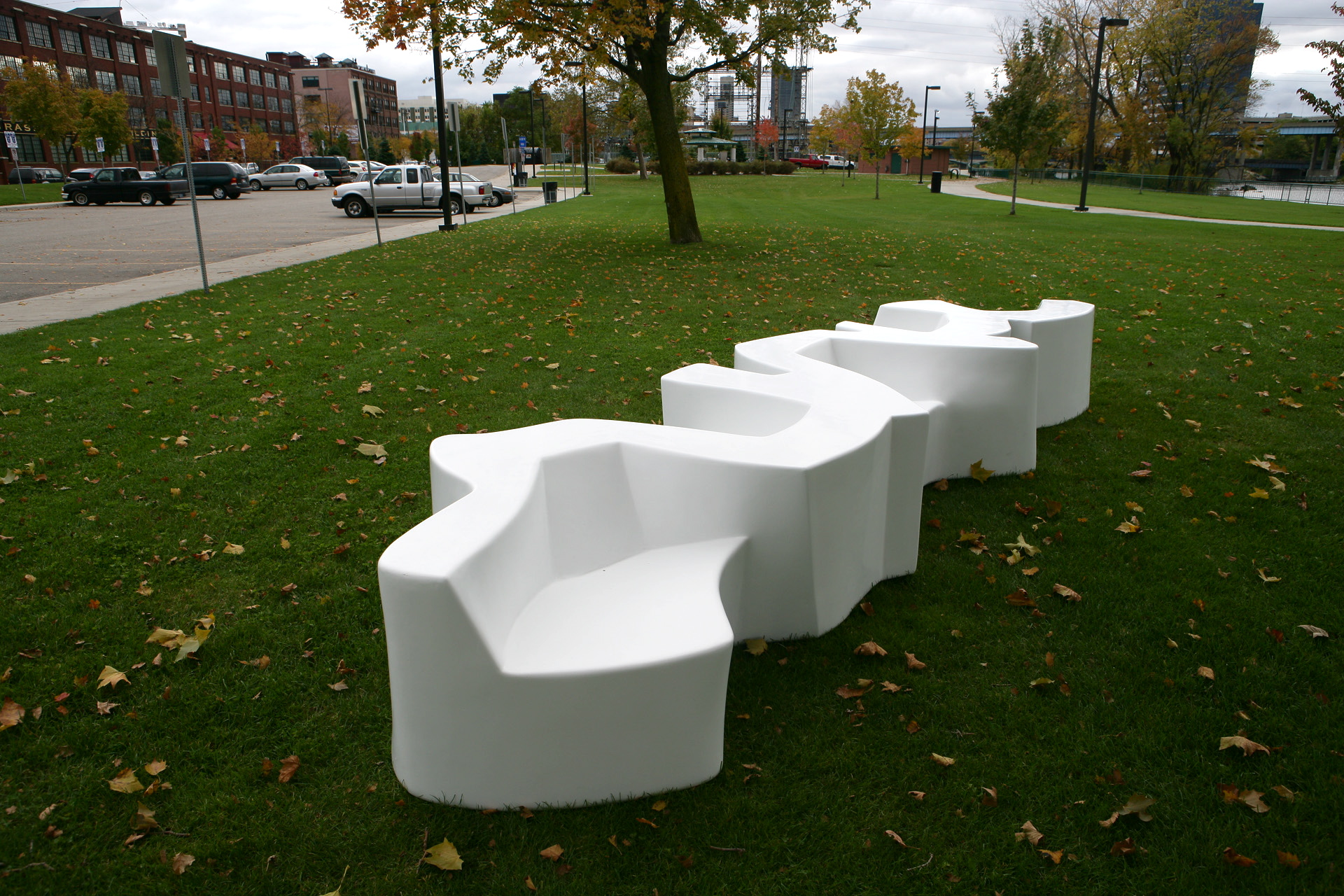 Public Furniture by Cameron Van Dyke at Coroflot.com