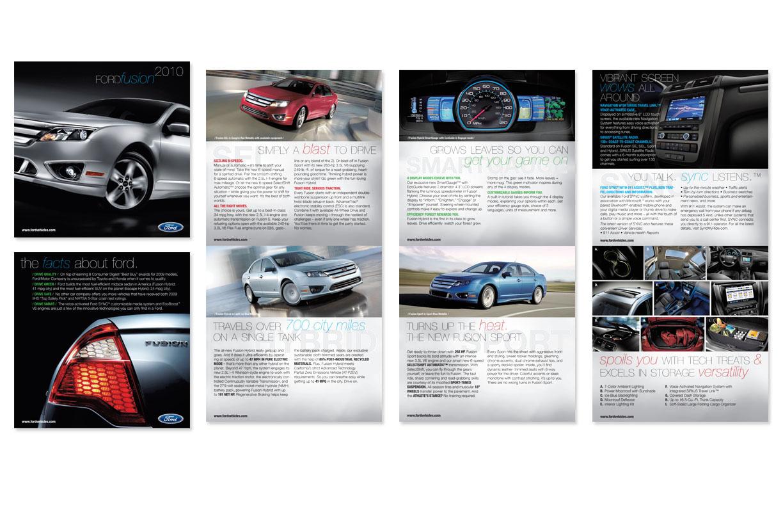 Ford Fusion Car Brochure by Brandi Boykin at Coroflot.com