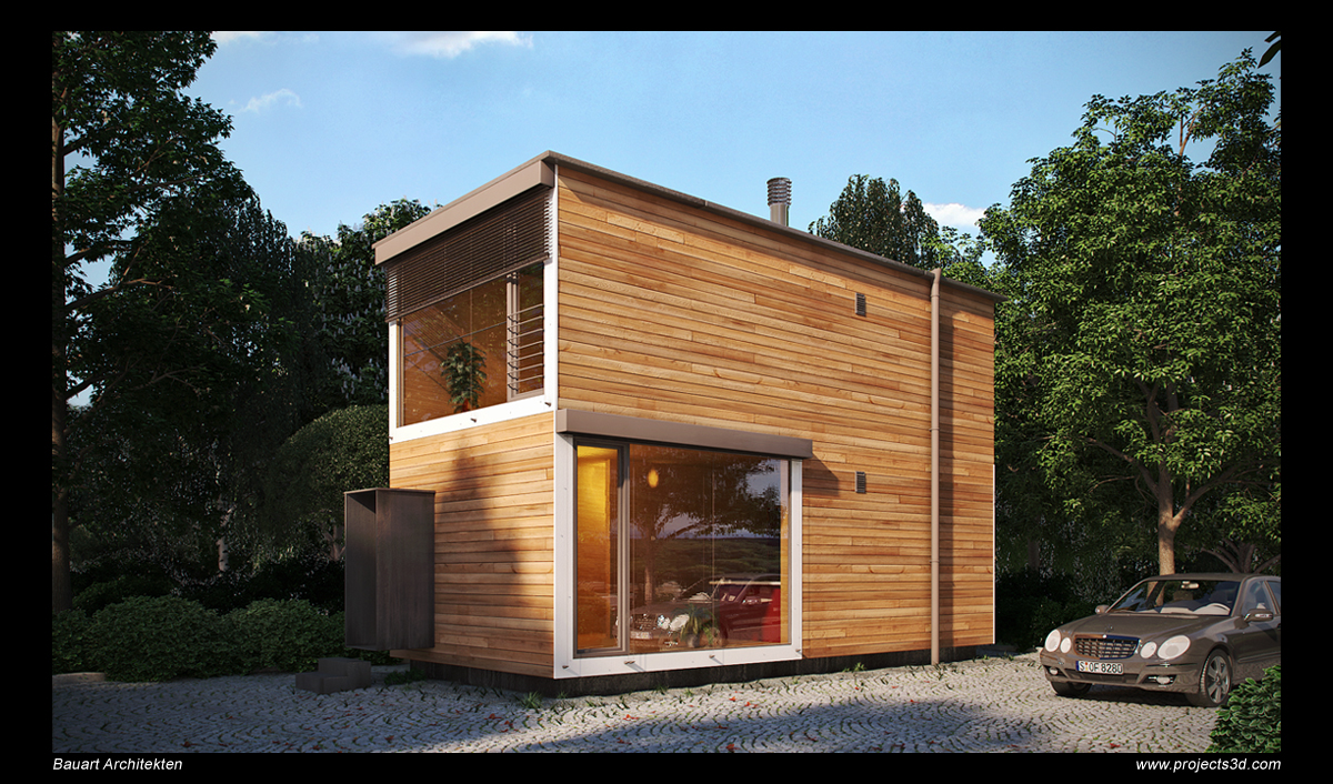 Realistic architectural visualization with 3ds max and for 3ds max architectural rendering