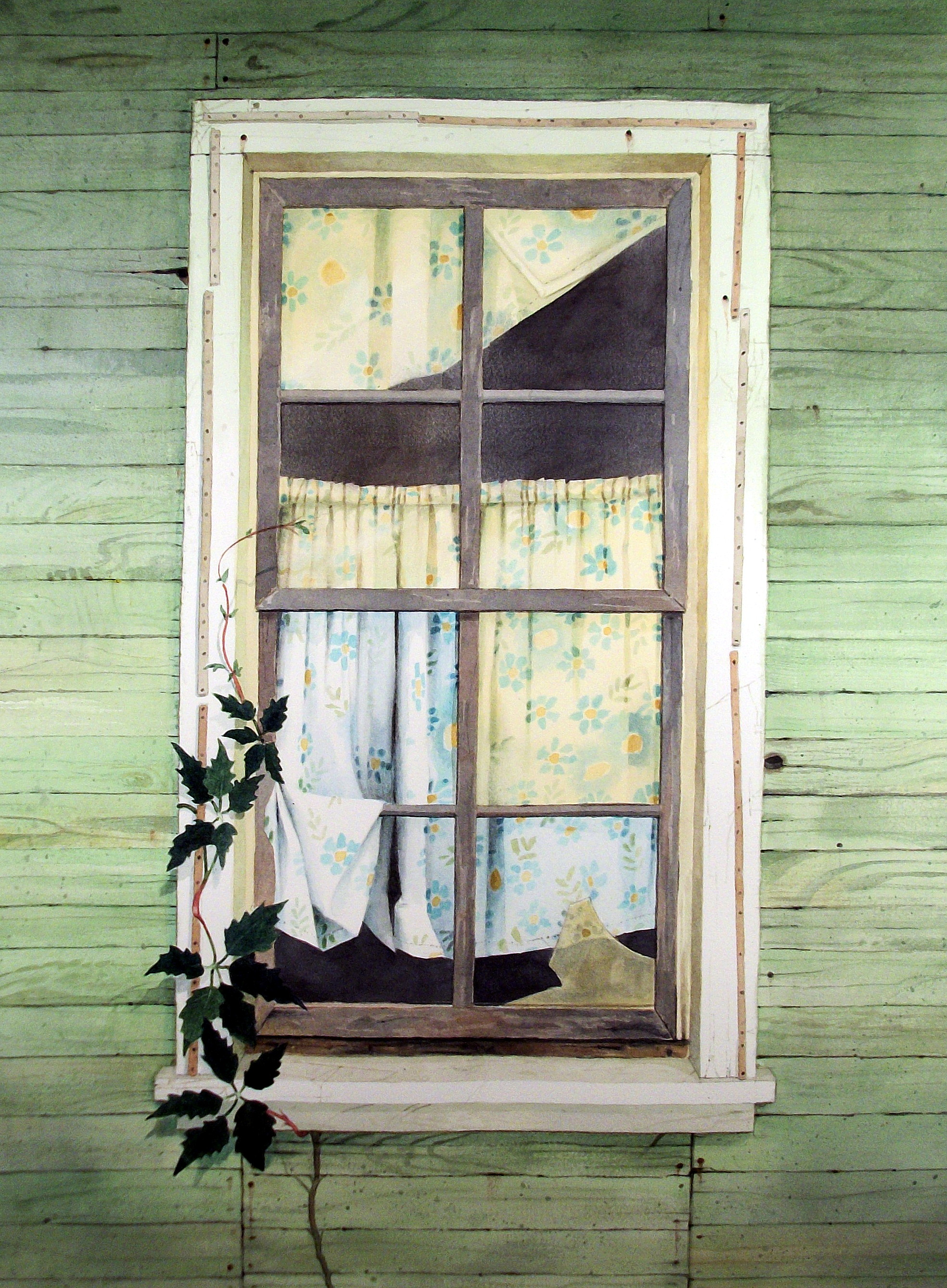 Fine art watercolor by graham creative at for 18x24 window