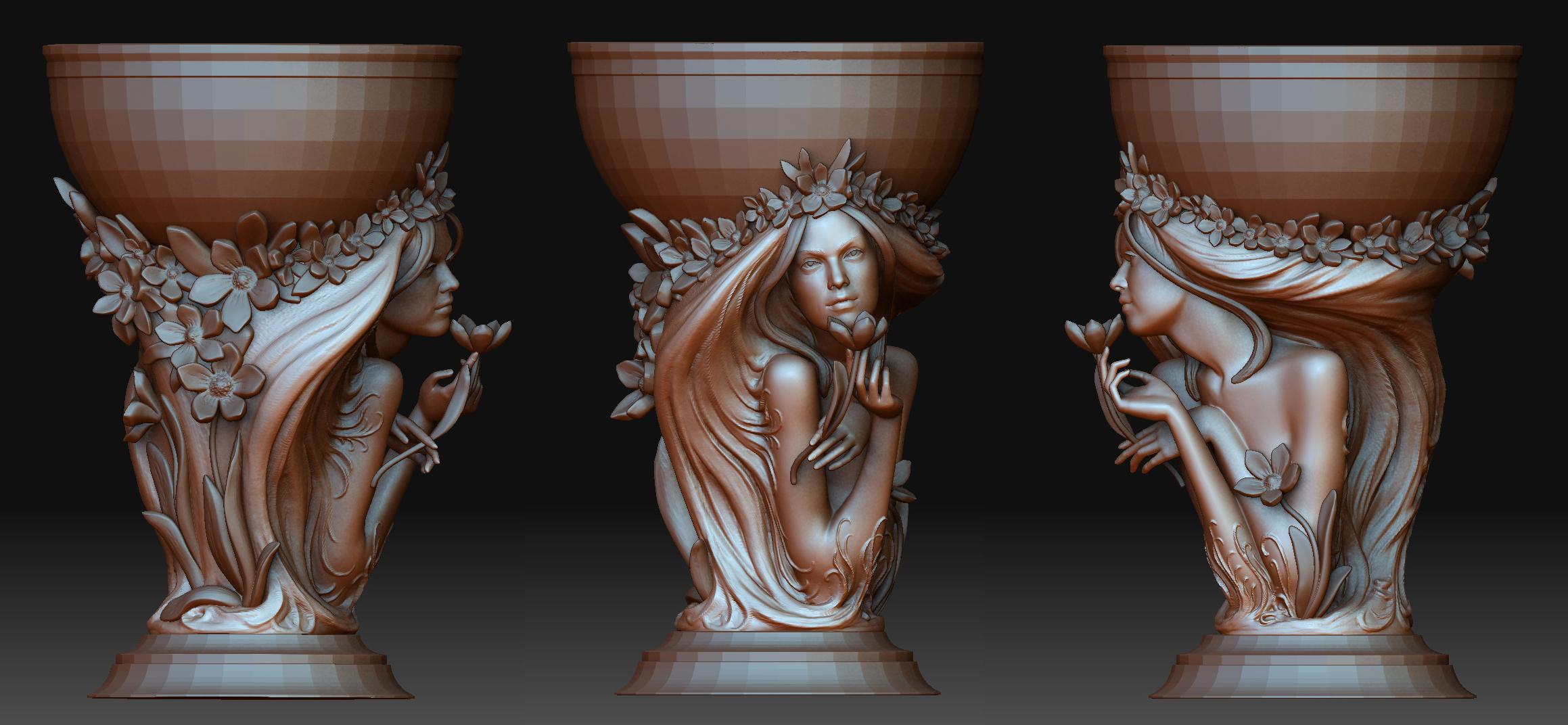 digital sculptures by Max Bespalov at Coroflot.com