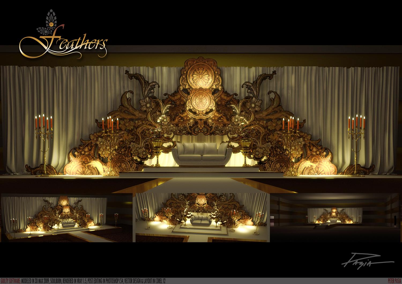 Wedding Stage Photos Stage Design Arabic Wedding