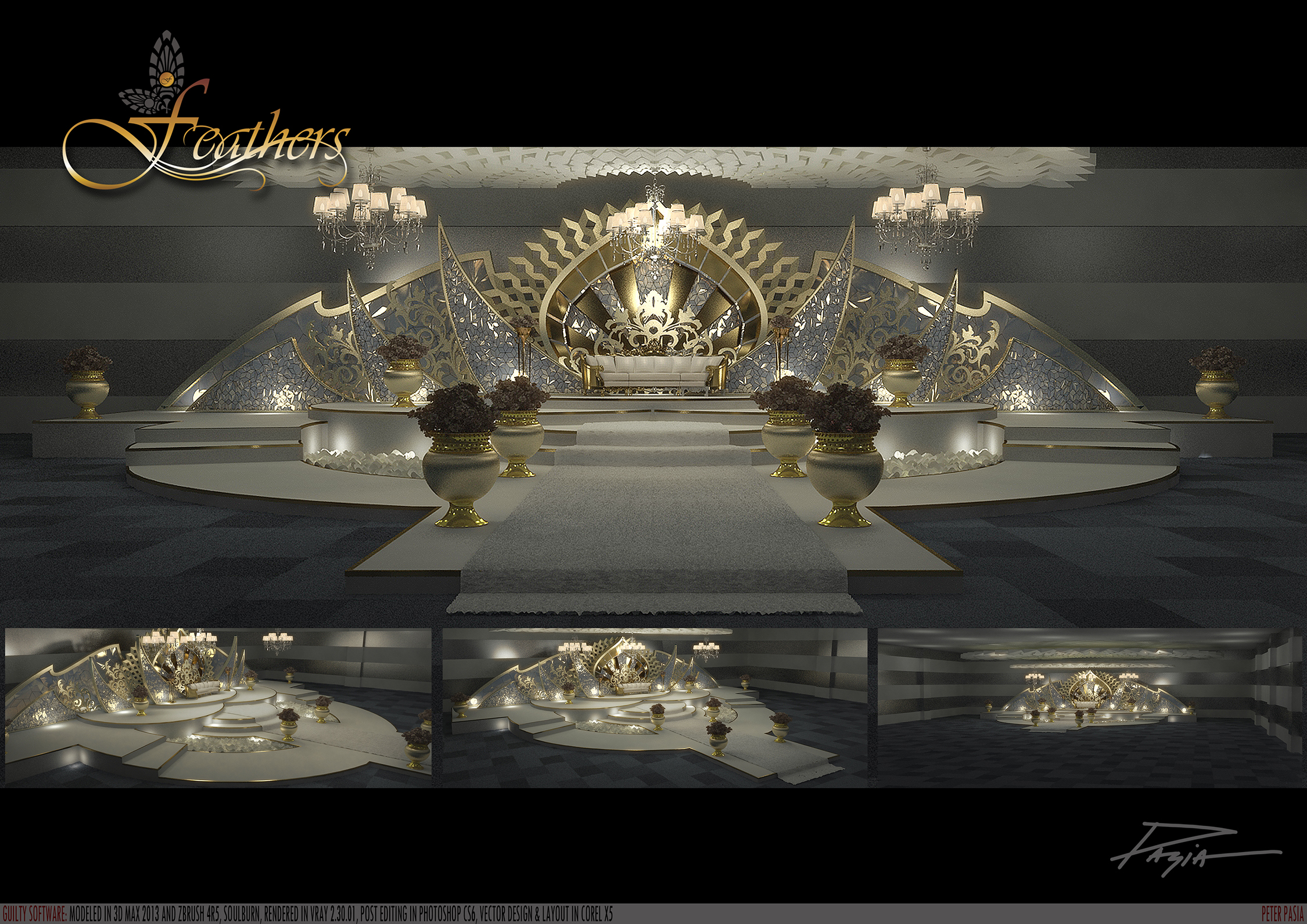 Stage Design By Peter Pasia At