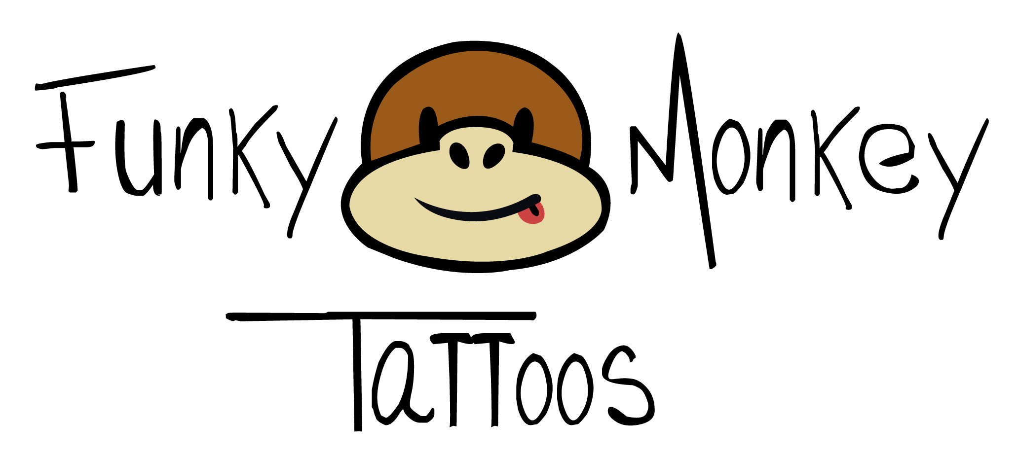 Funky monkey tattoos