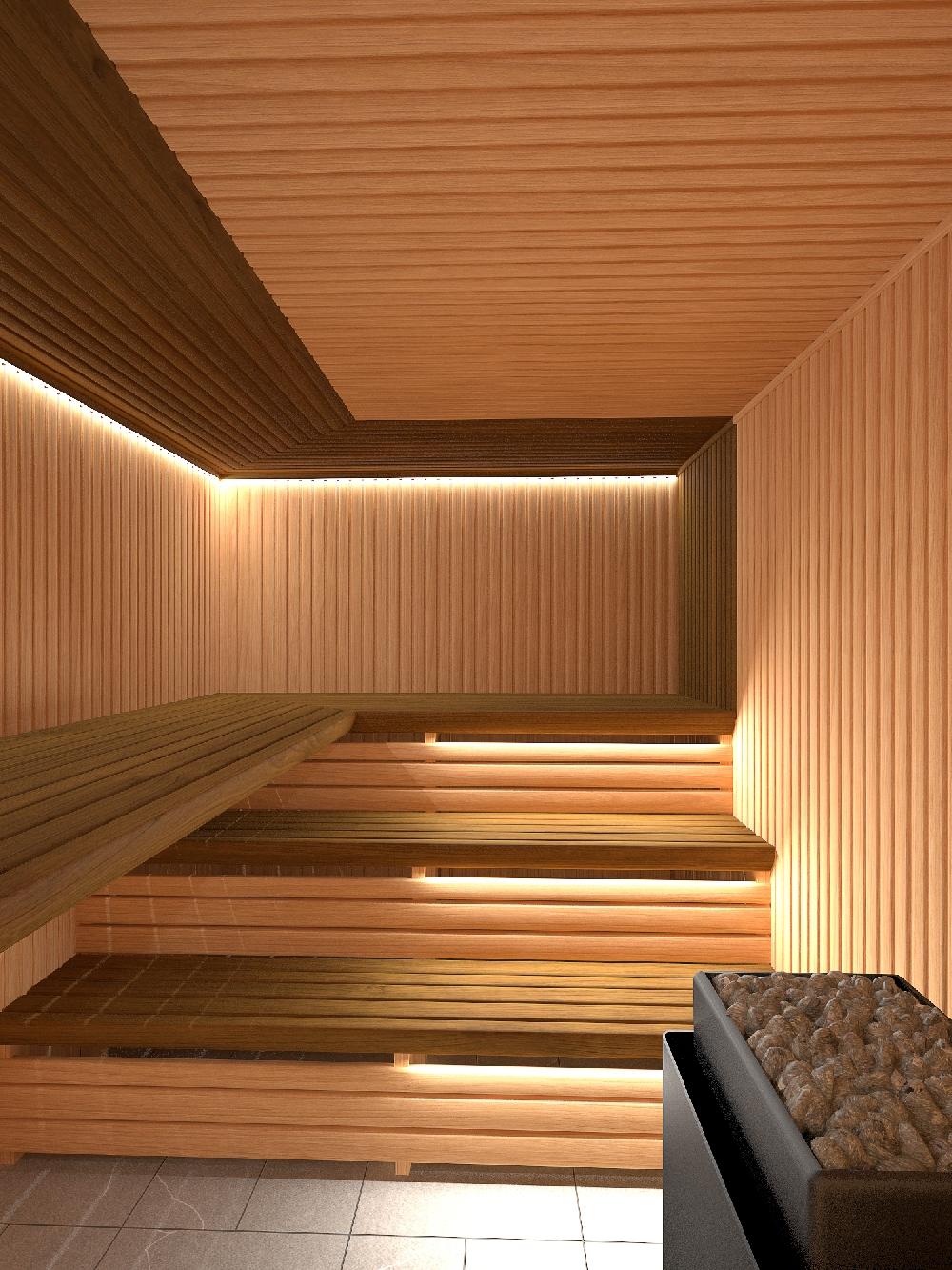 Sauna Project By Artom Bugo At