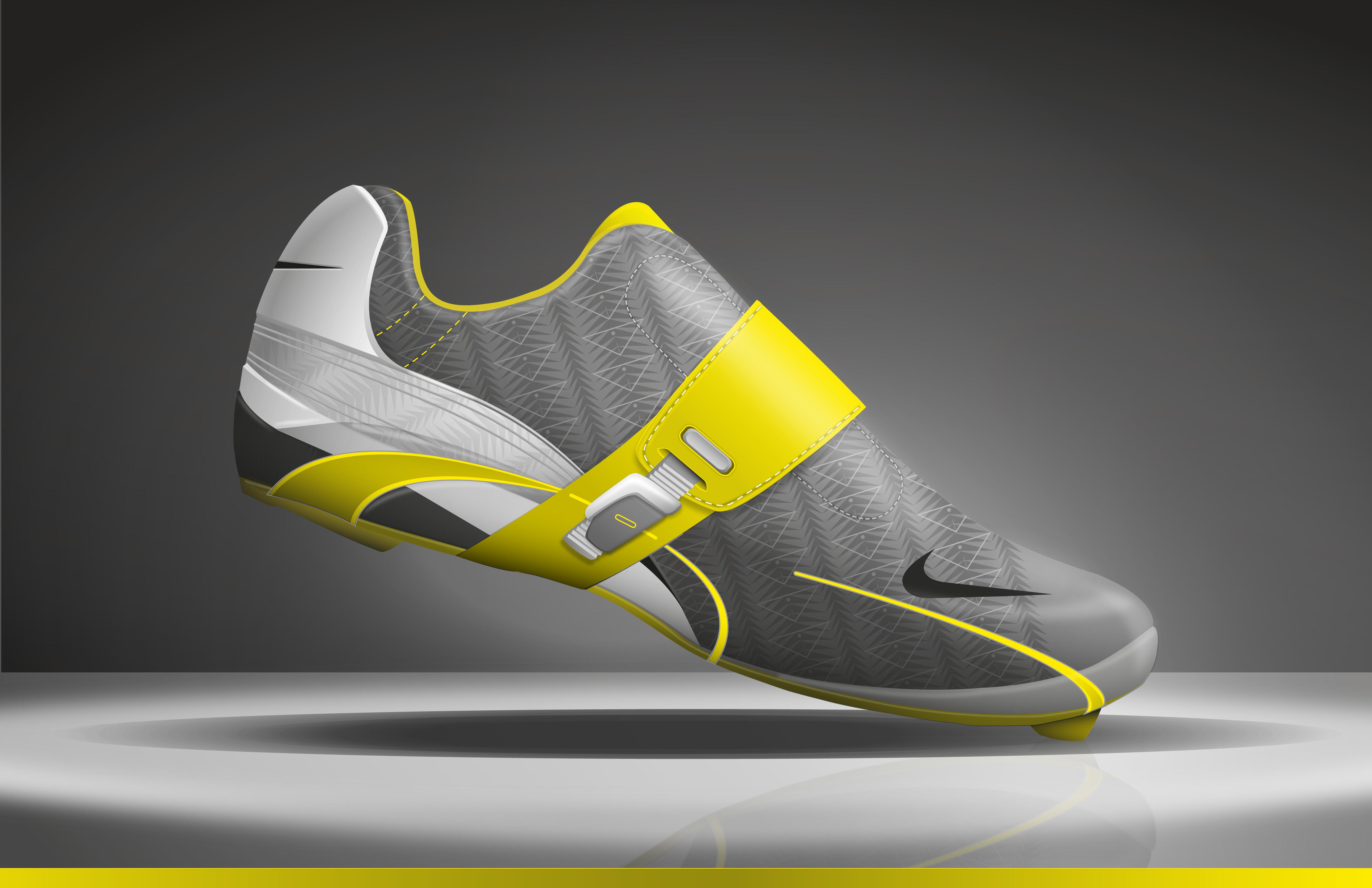 lance cycling shoe