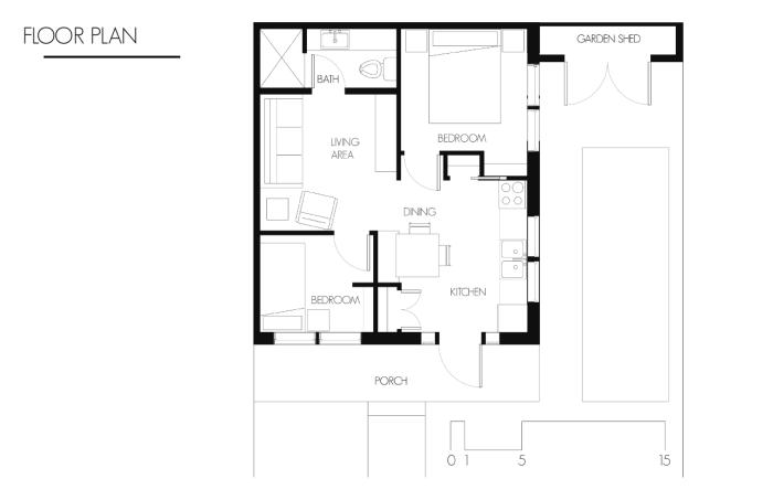Does anyone have 400 sq ft 1 1 floor plans for Home design 400 square feet