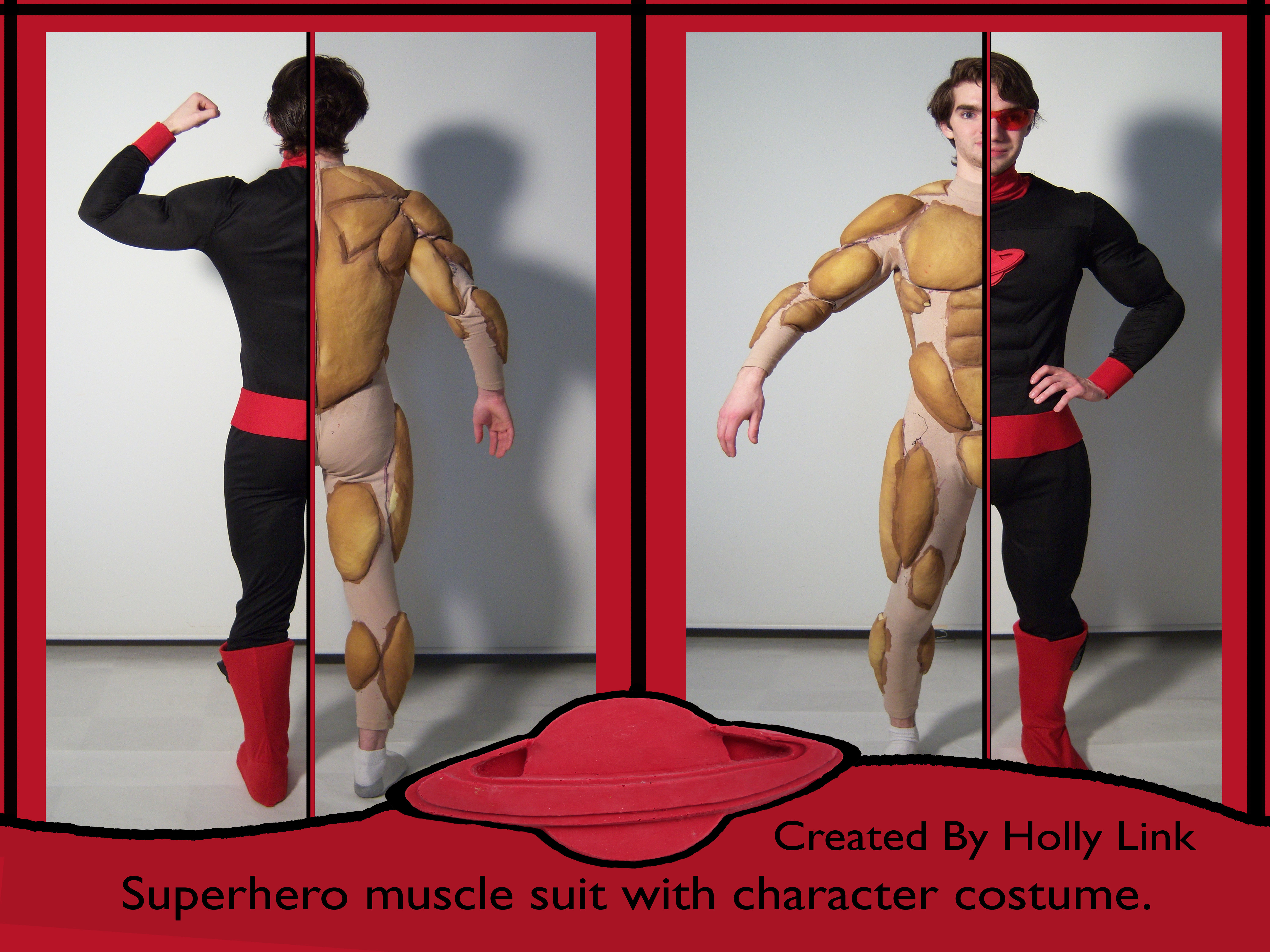 superhero muscle suit by holly link at coroflot, Muscles