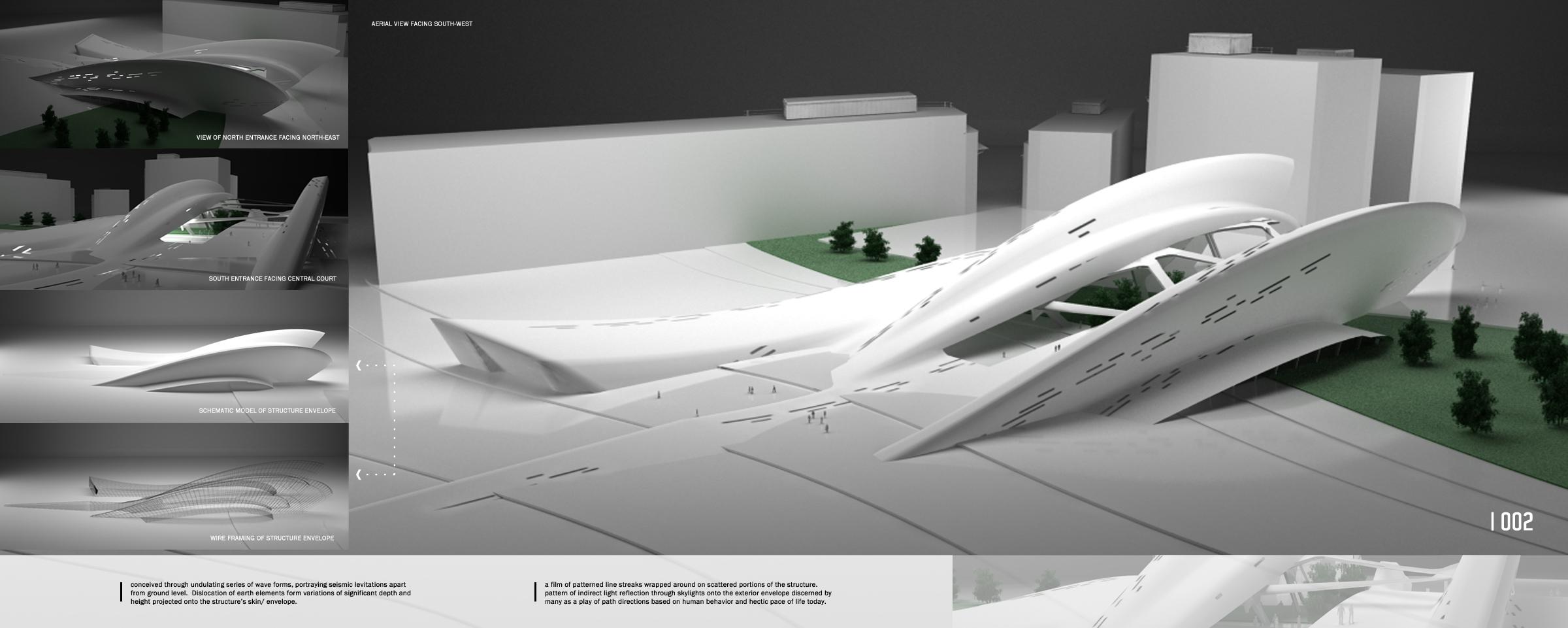 Transit concept design by arch franz josef m gutierrez for Pavilion concept architecture