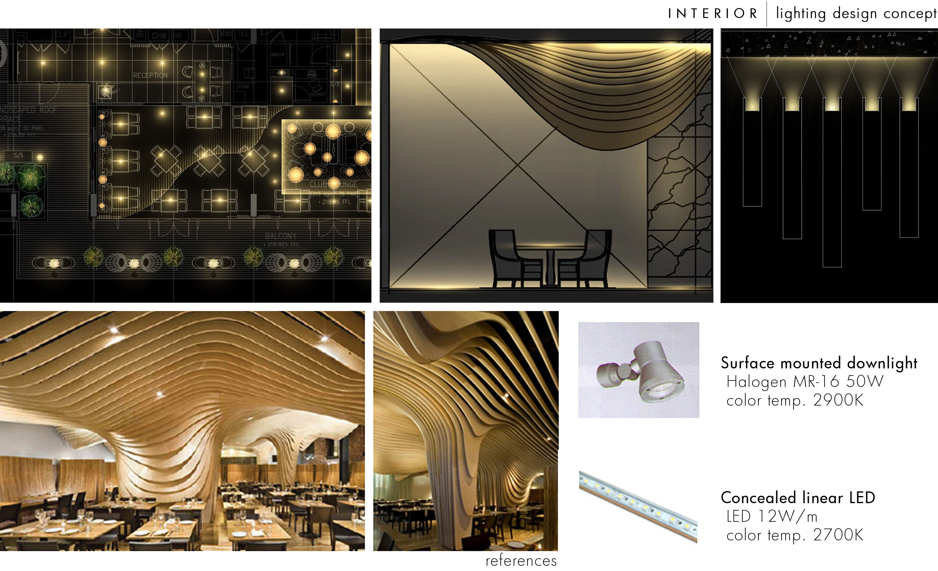 Interior lighting design by steven kurniawan at - Lloyds architecture planning interiors ...