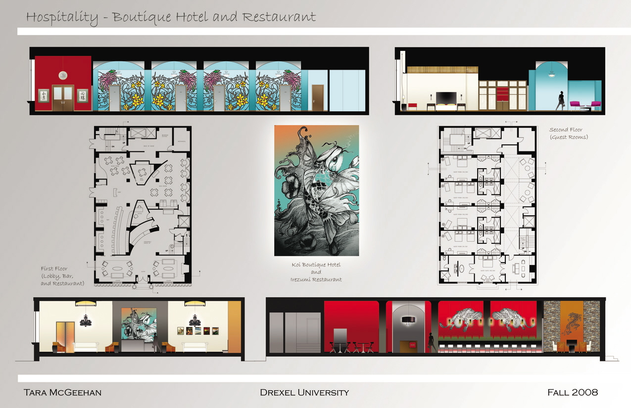 Plan And Elevation Of Restaurant : Top view elevation floor images for pinterest tattoos