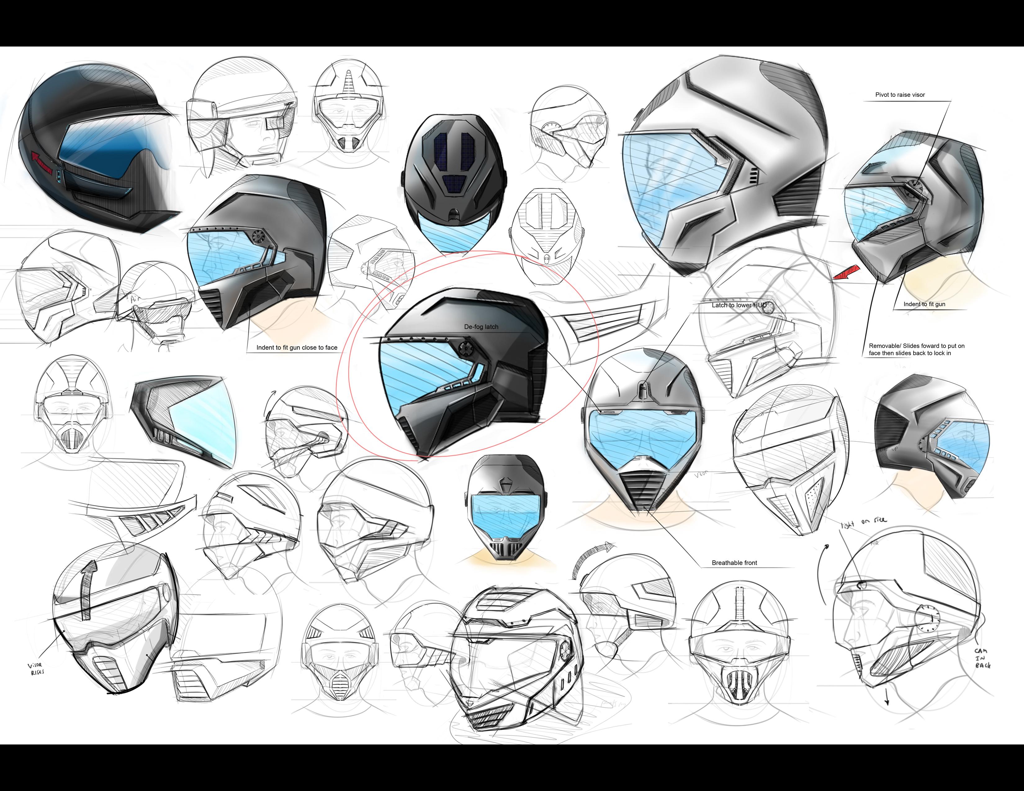 Senior studio military helmet by elliot cohen at coroflot com