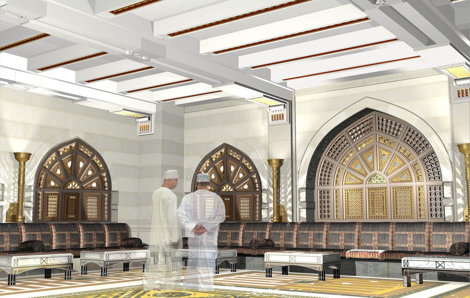 Modern mosque interior design images for Mosque exterior design