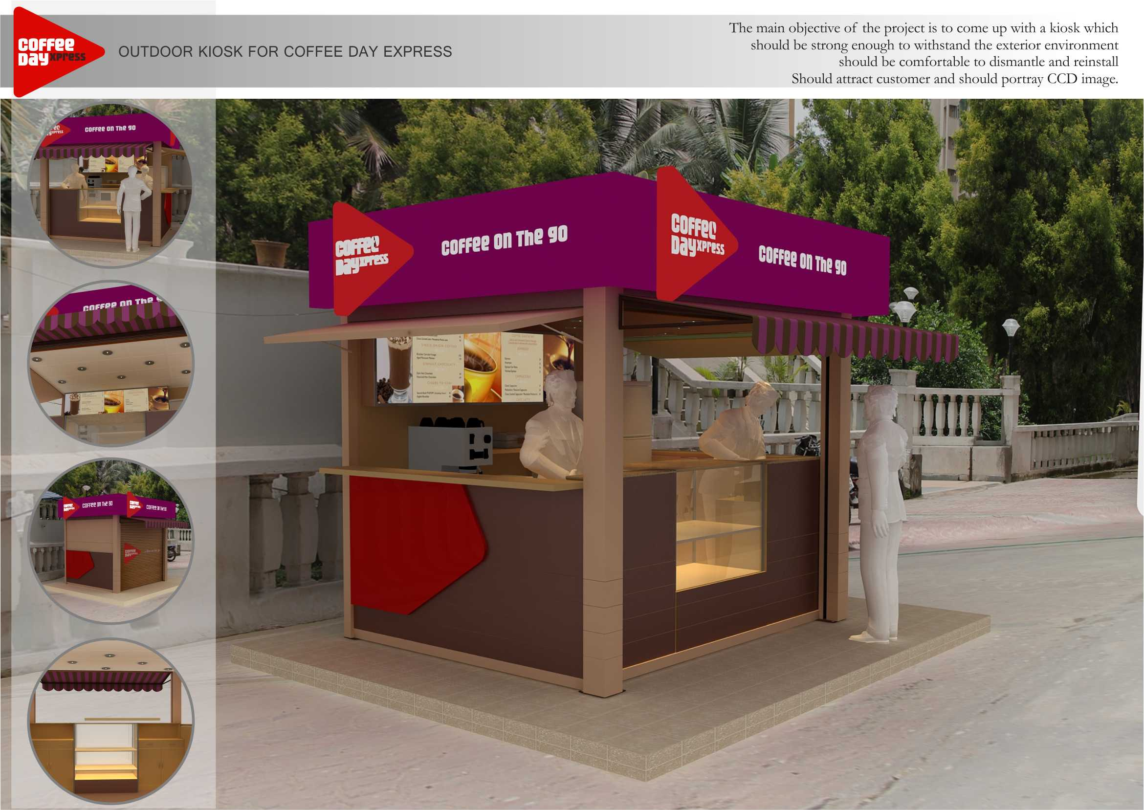 A Sample Coffee Kiosk Business Plan Template