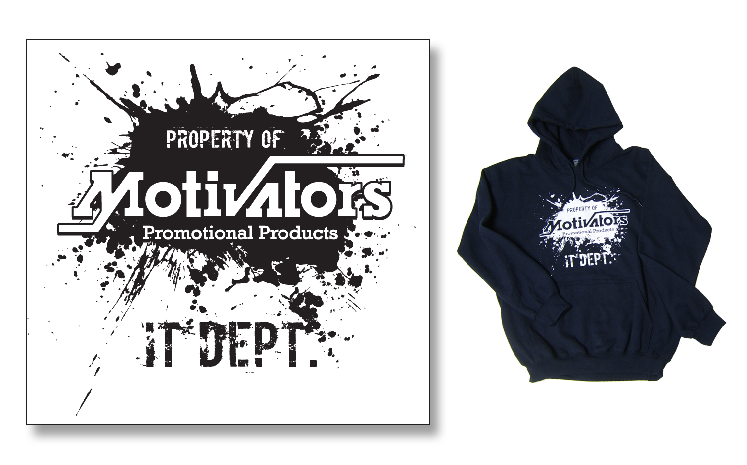 Shirt hoodie design - Hoodie Sweatshirt Design The Company Decided That They Wanted To Print Hoodie Sweatshirts For The It Dept And This Was The Design That Was Used