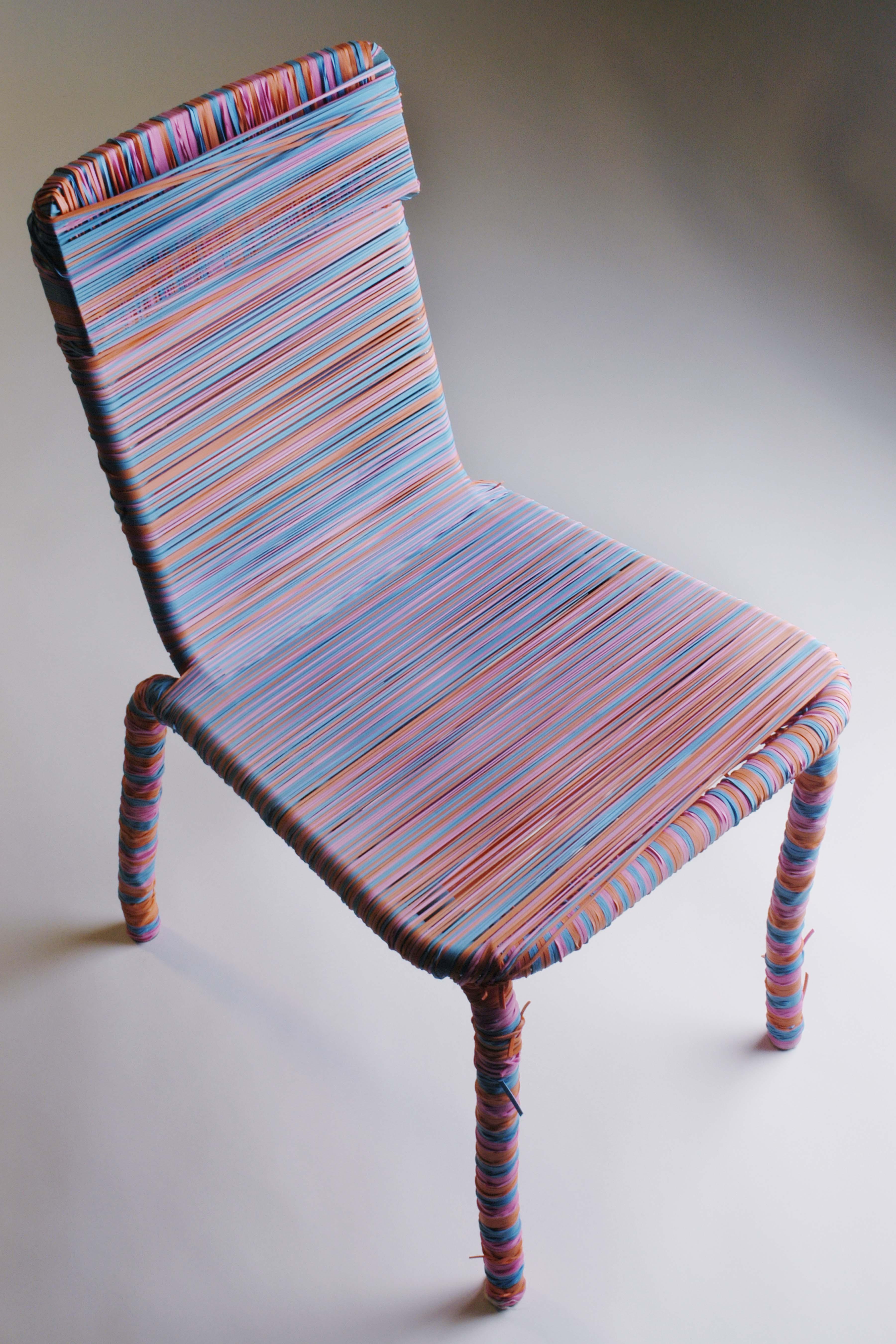 Harrington Experimental Design Project Rubberband Chair