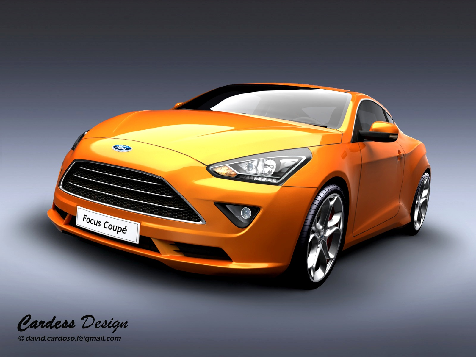 ford focus coupe by david cardoso l at. Black Bedroom Furniture Sets. Home Design Ideas
