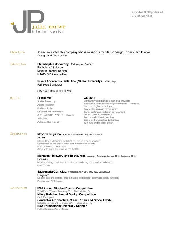senior interior designer resume interior designer free resume
