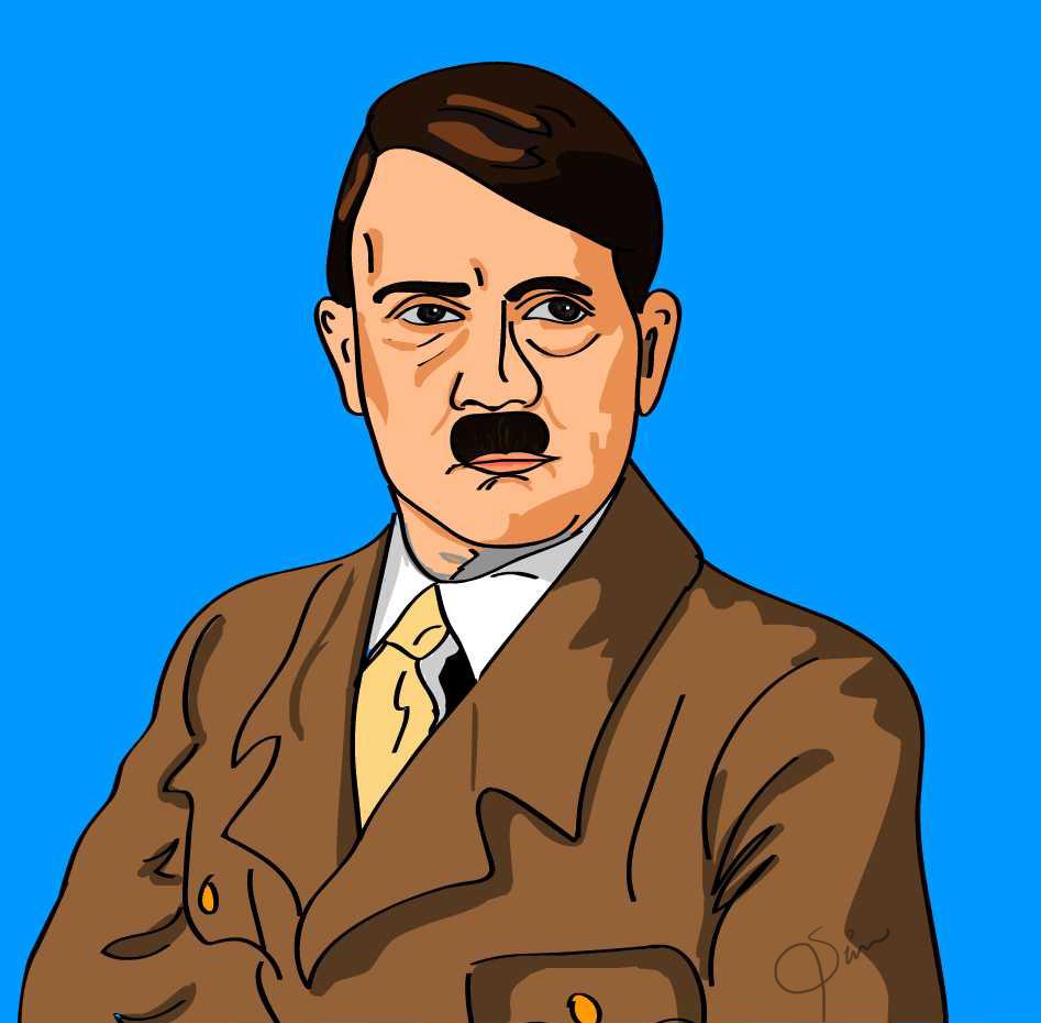 Hitler Cartoon » Emblems for GTA 5 / Grand Theft Auto V