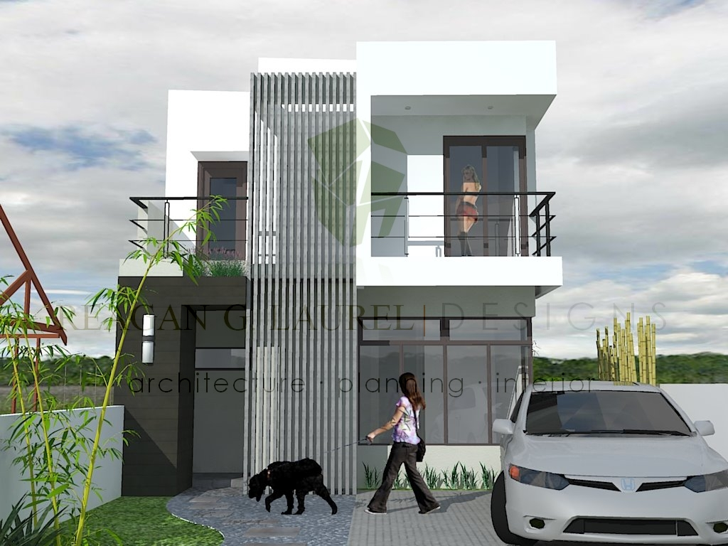 3d exterior by reagan laurel at for Small house design concept