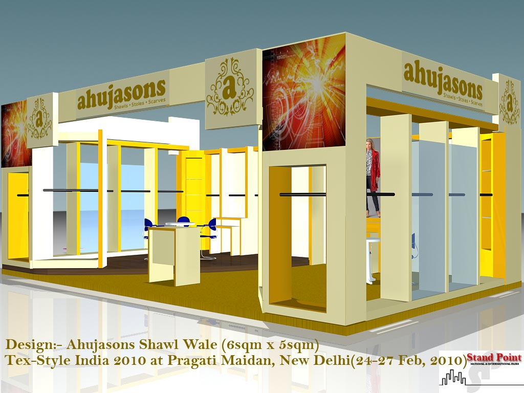 D Exhibition Stall Design Full : Ahuja sons by dheeraj kumar bharti d exhibition stall