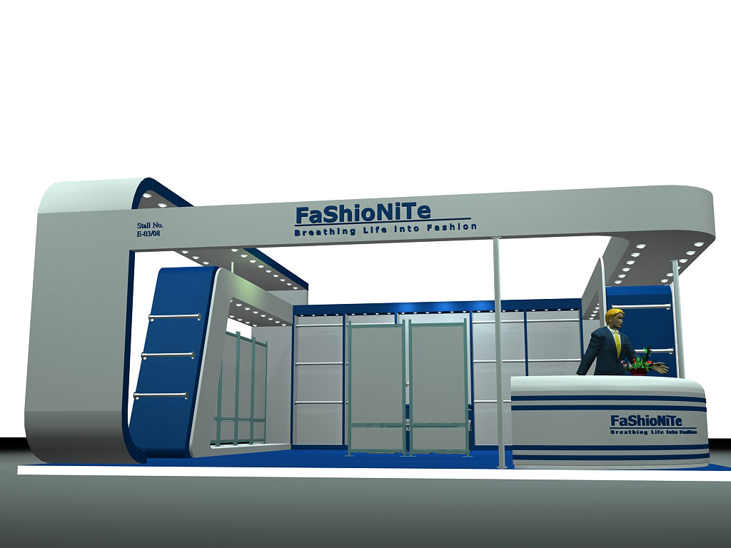 D Exhibition Stall Design Full : Fashionite by dheeraj kumar bharti d exhibition stall