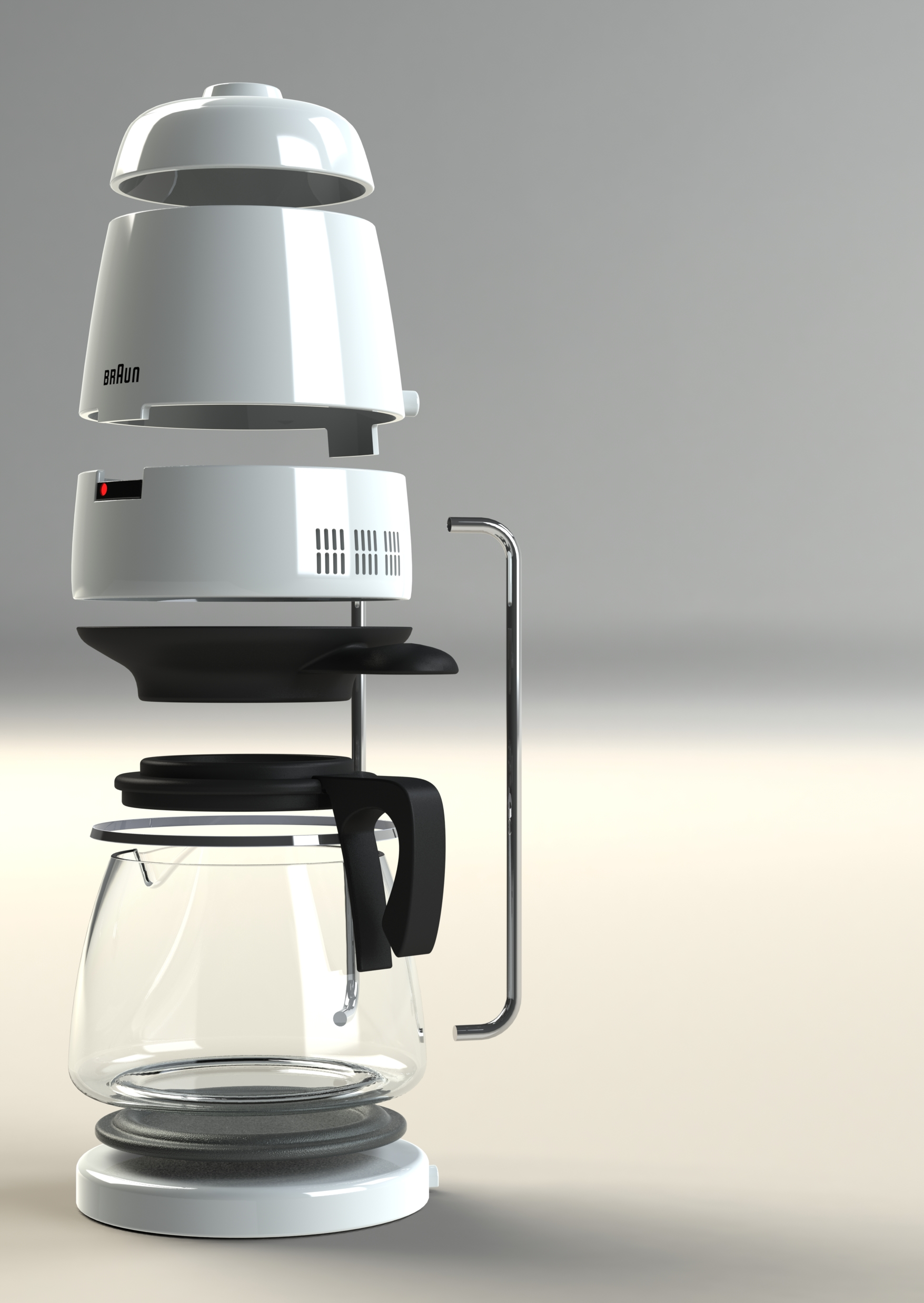 Braun kf2010 coffee maker by richard wilson at for View maker
