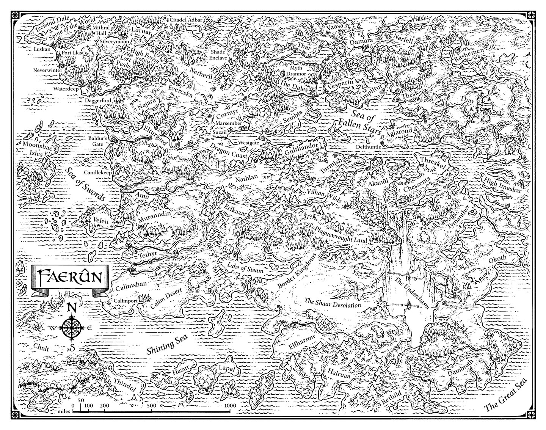 Image Map Faerun 2e Jpg – Wonderful Image Gallery