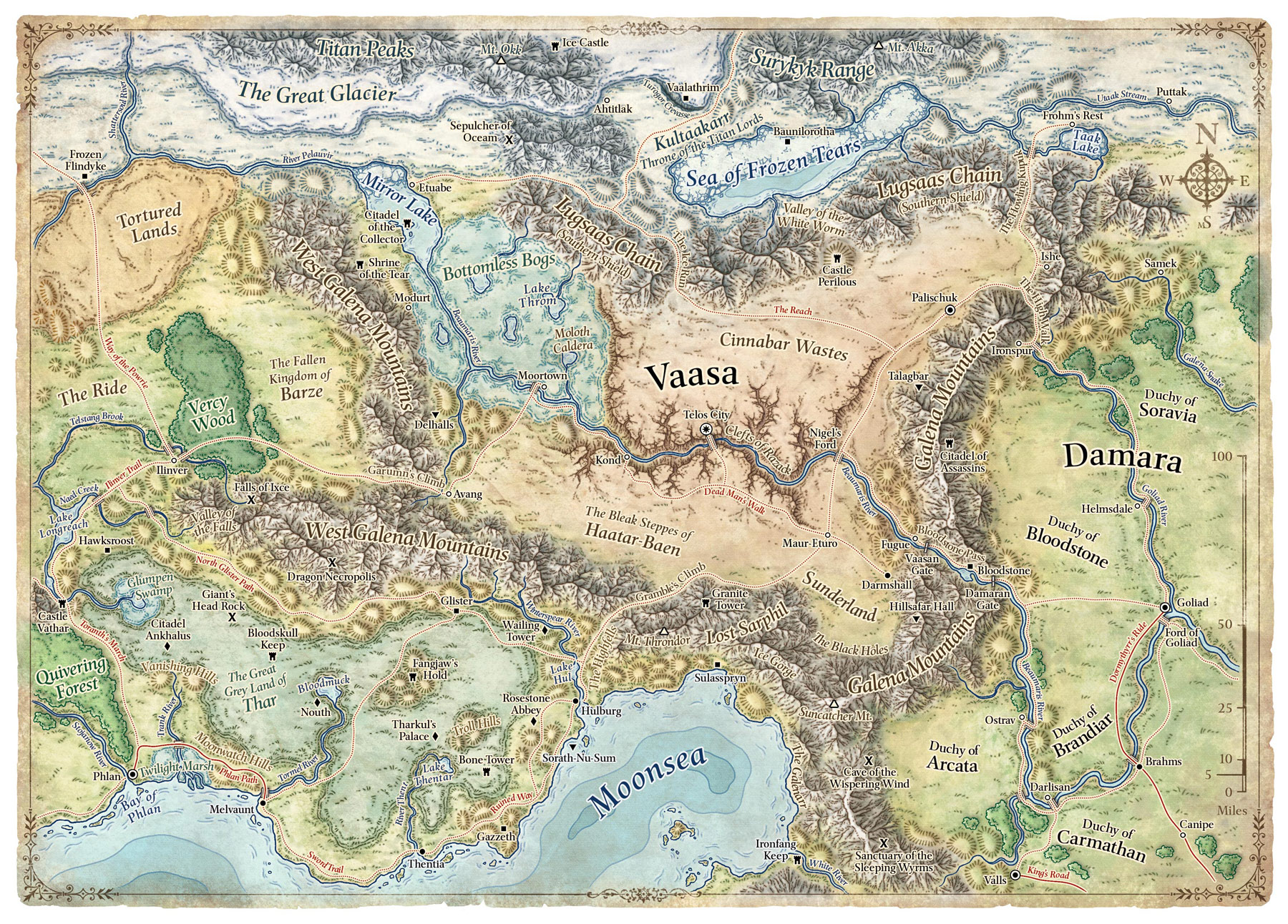 Forgotten Realms Map Related Keywords &amp Suggestions