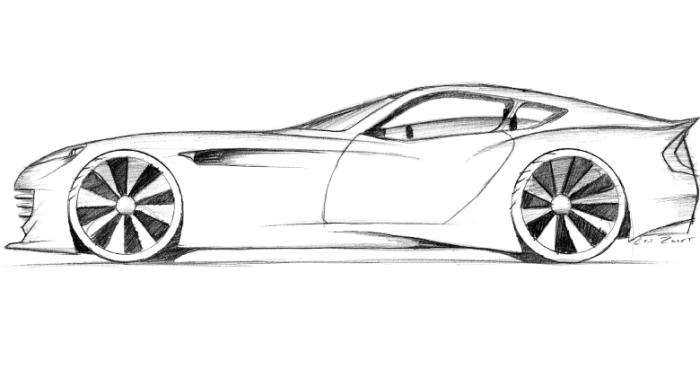 how to draw sport cars - Sport Cars Drawings
