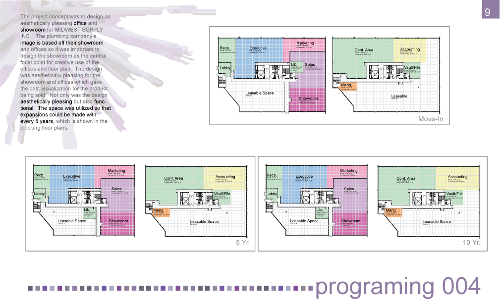 Interior design portfolio by lauren scassellati at - What is programming in interior design ...