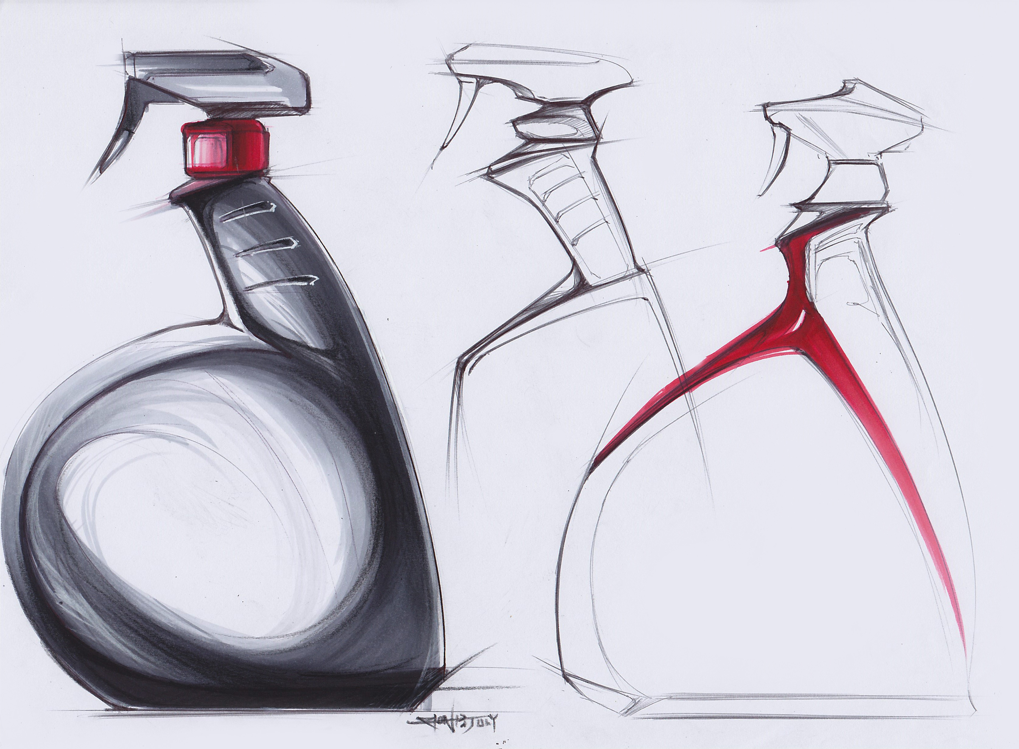 Product design sketches by zion hsieh at for Product design