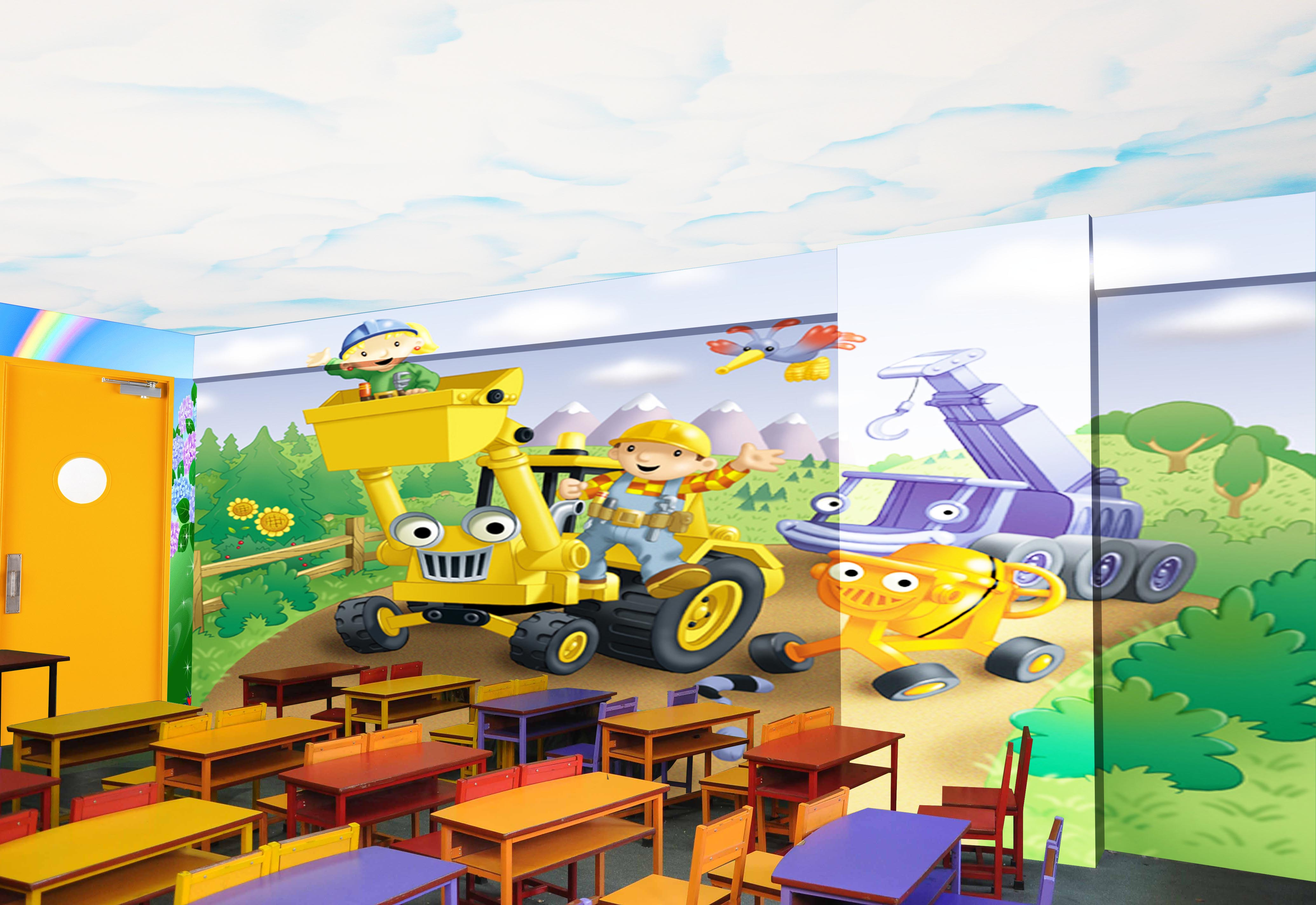 Kids school interior design - Kids School Arena