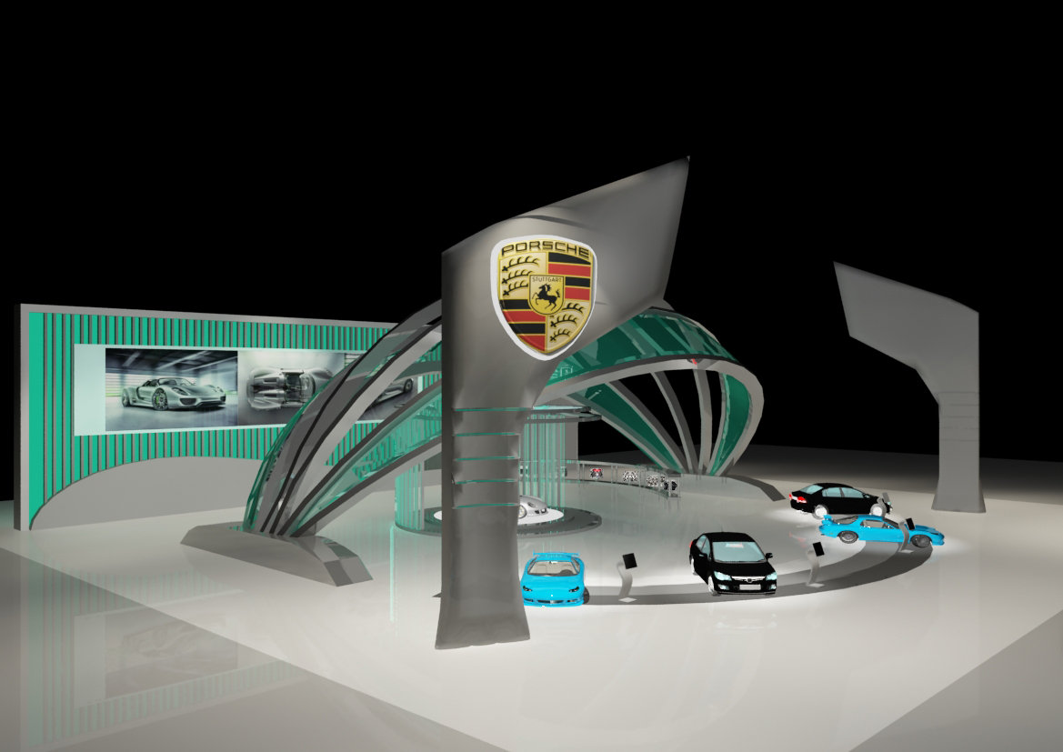 Booth And Exhibition Design By Vicky Lim At