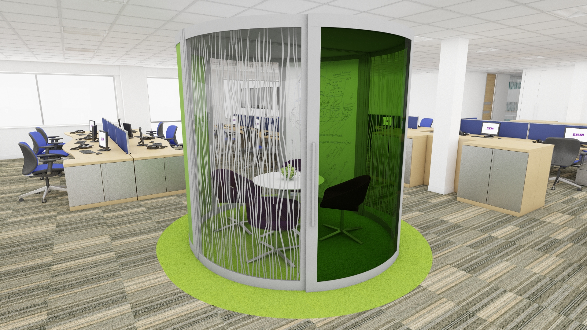 Meeting Pods By Daniel Kington At Coroflot Com